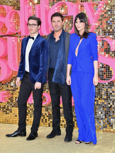 Dave, George and Lilah Fashion Moments