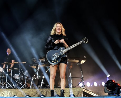 Ellie Goulding plays at Glastonbury 2016