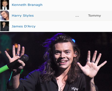 Harry Styles Dunkirk Name
