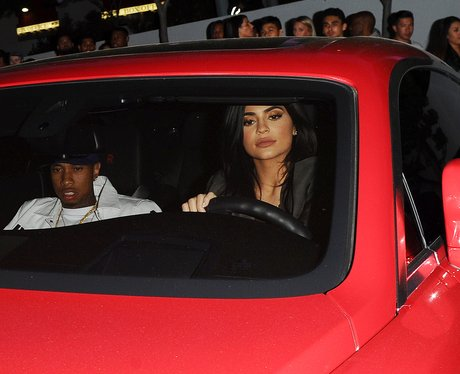 Kylie Jenner and Tyga attend Kanye West's 'Famous'