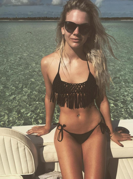 Louisa Johnson shows off her bikini body on holida