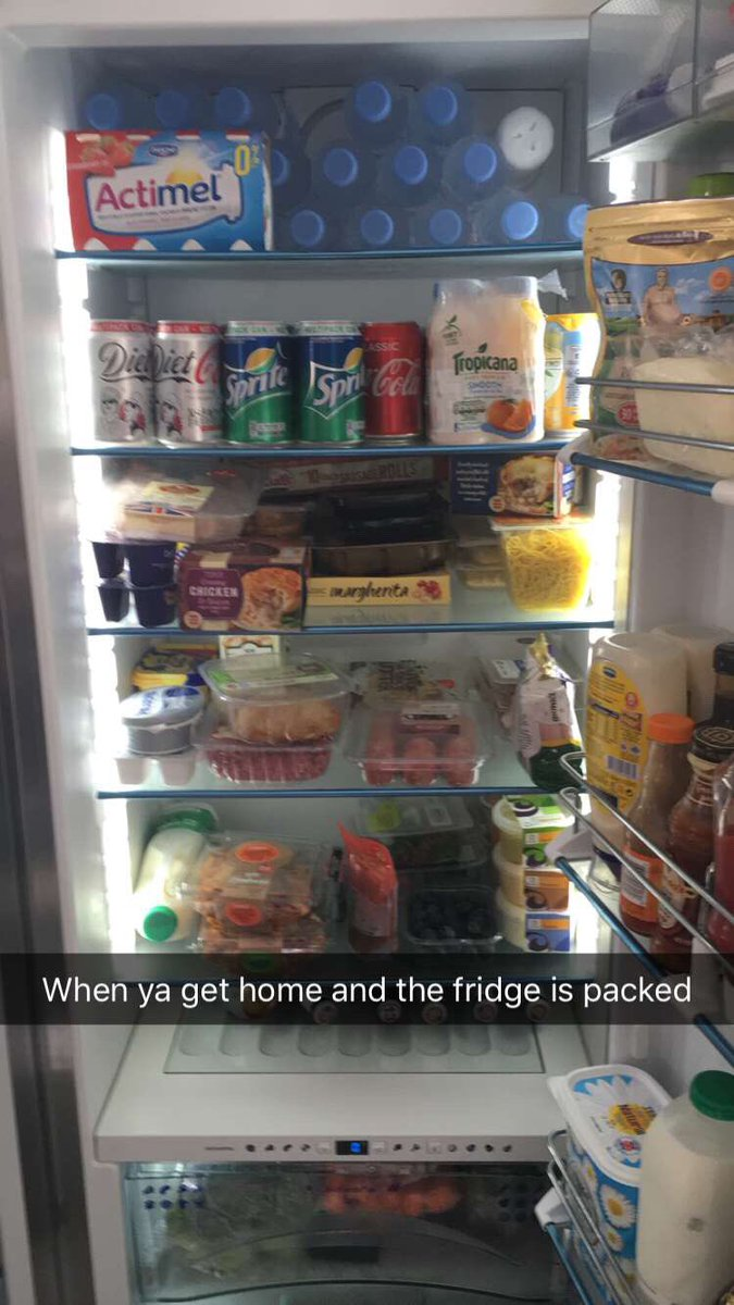 Niall Horan's Fridge