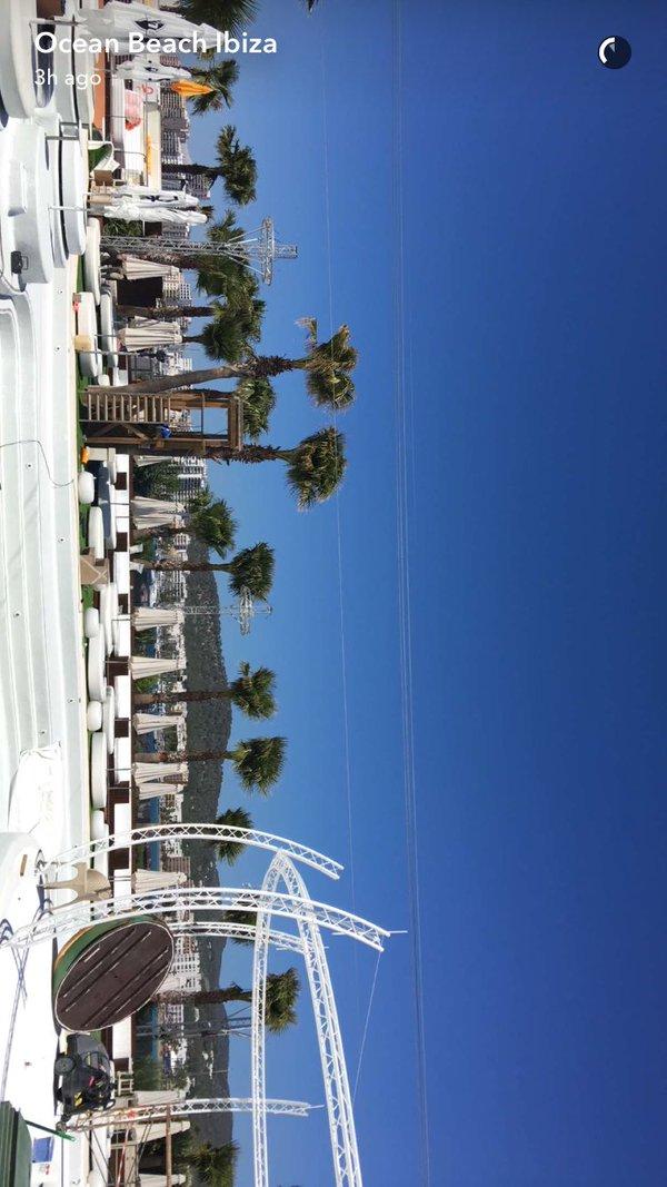 Ocean Beach Club Ibiza Snapchat