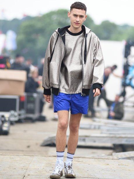 Olly Alexander at Glastonbury 2016