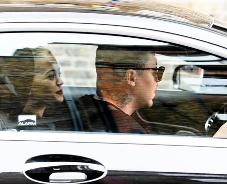 Rita Ora and Professor Green spotted heading on Na