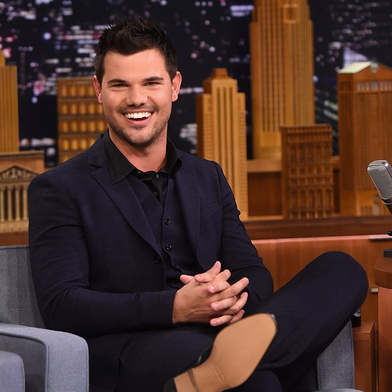 Taylor Lautner Visits 'The Tonight Show Starring Jimmy Fallon'