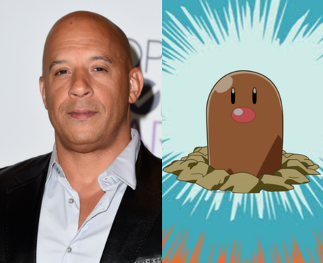 Celebrities as Pokémon