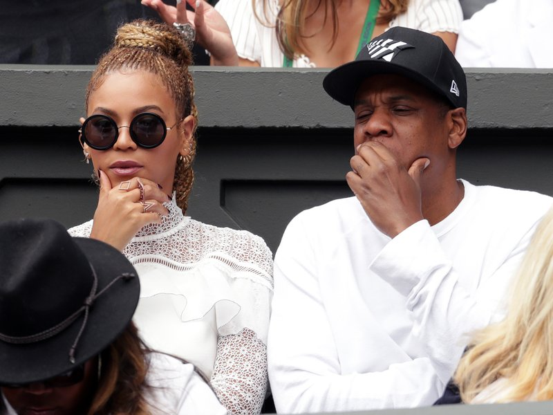 Beyonce & Jay Z at Wimbledon 2016
