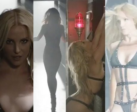 Britney Spears promotes her new perfume