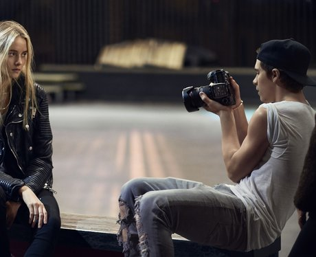 Brooklyn Beckham shoots new Burberry campaign