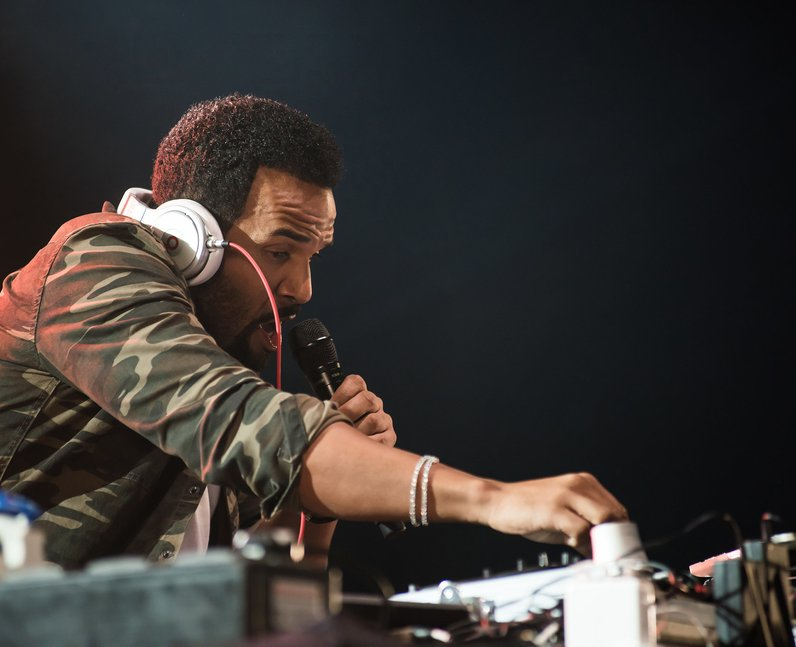 Craig David at Wireless Festival 2016