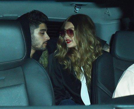 Zayn Malik and Gigi Hadid holding hands