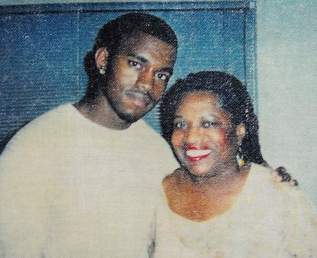 Kanye and Mother Donda West