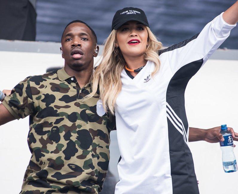 Konan and Rita Ora at Wireless Festival 2016