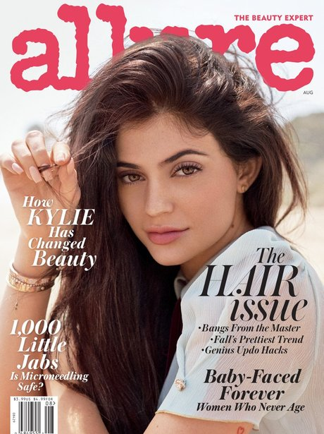 Kylie Jenner Allure cover