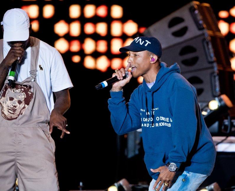 Pharrell and Skepta Wireless Live 2016