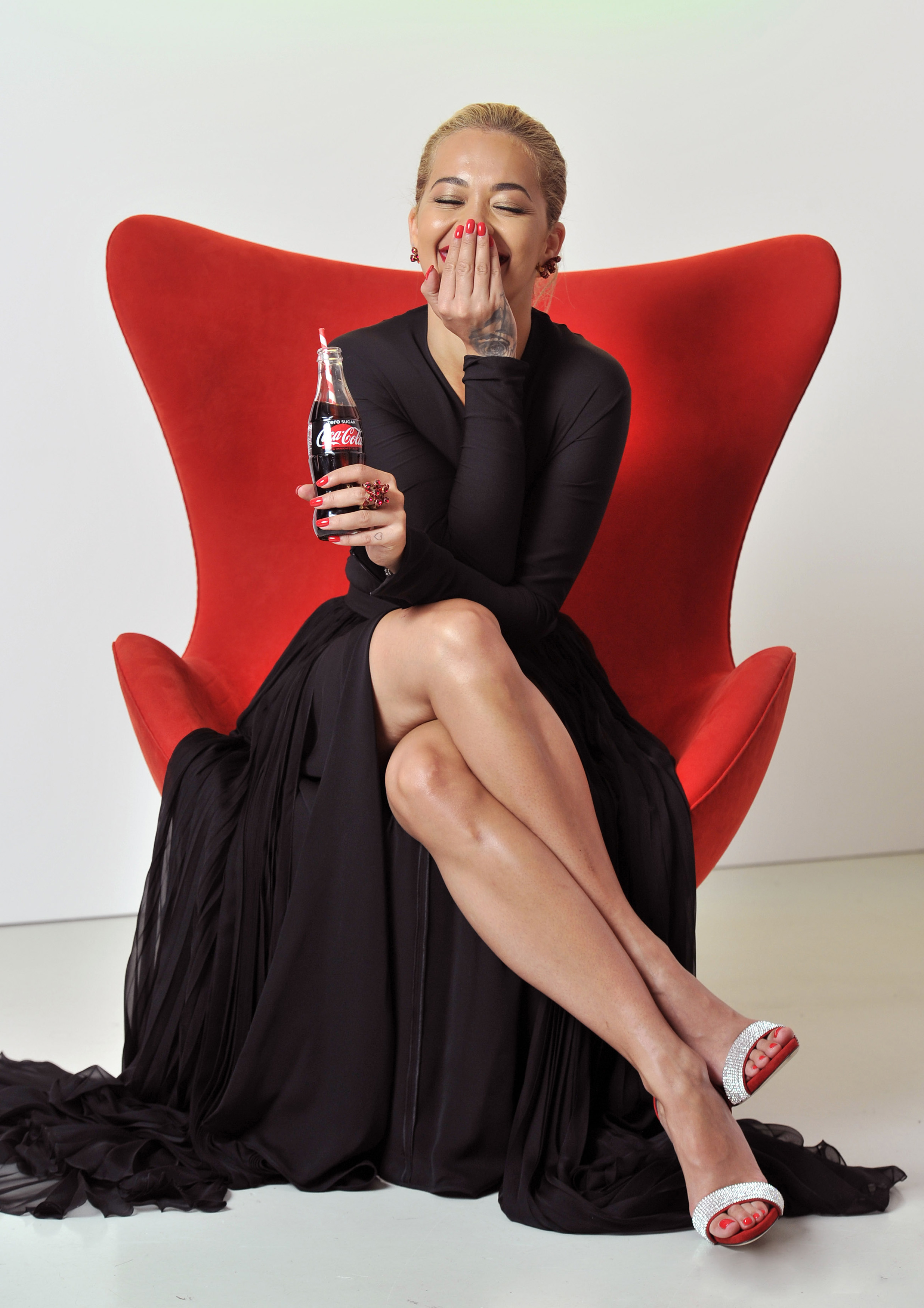 Rita Ora at Coca Cola Zero Sugar launch