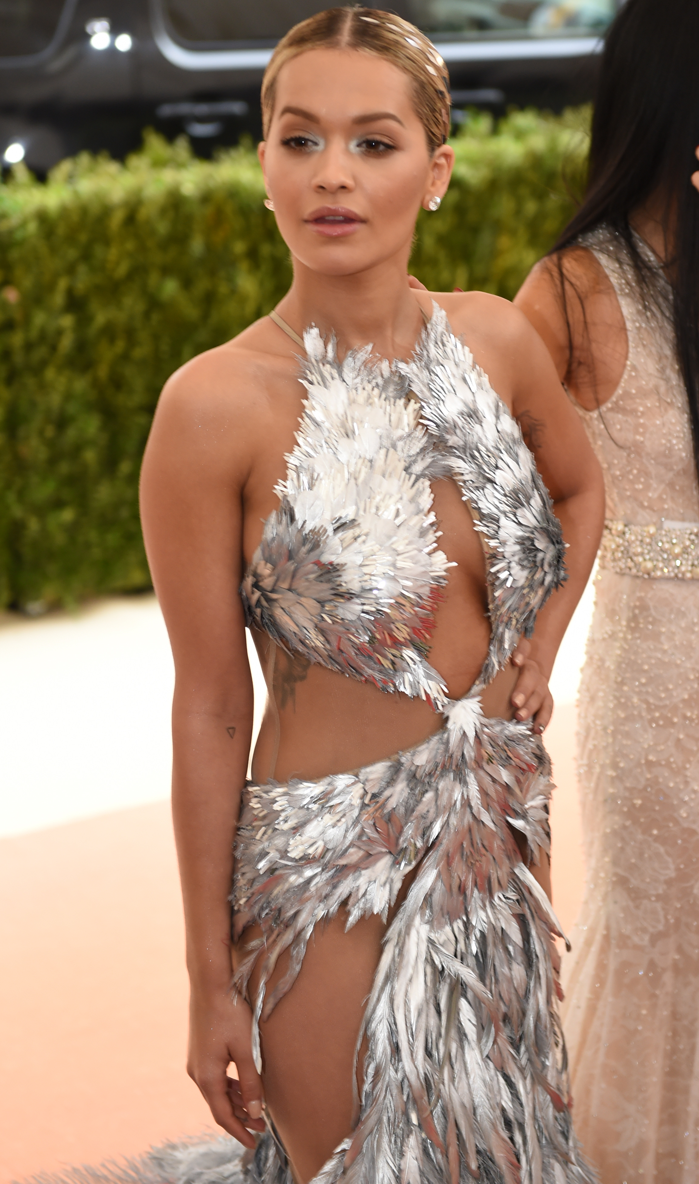 Rita Ora at US-ARTS-FASHION-ENTERTAINMENT-GALA