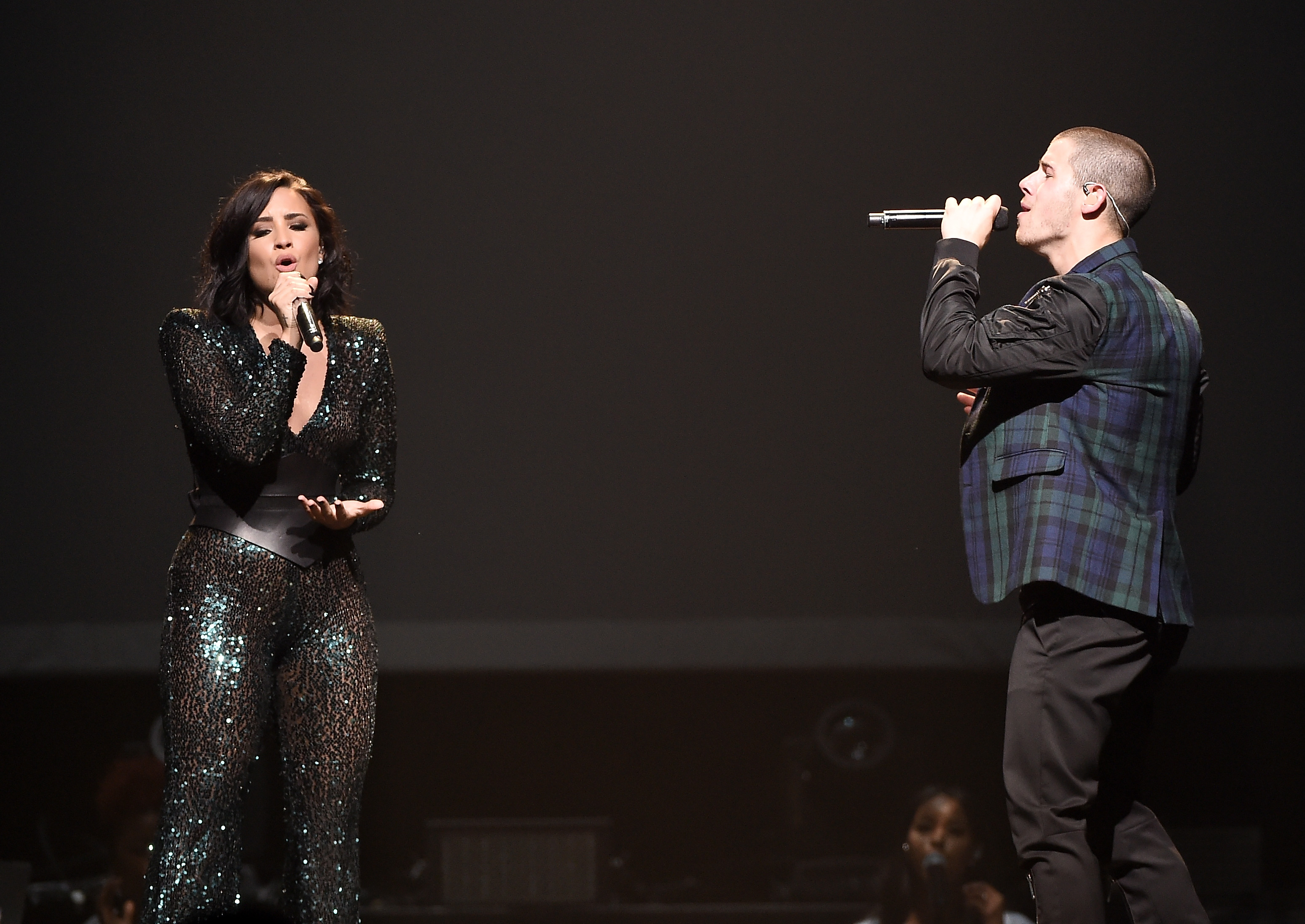Demi Lovato & Nick Jonas In Concert - Brooklyn, NY