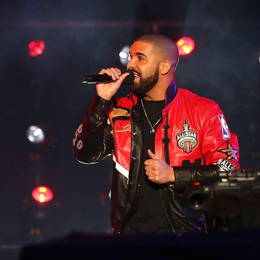 Drake NBA All-Star Game 2016