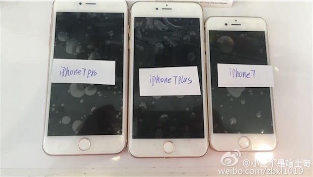 iPhone 7 Leaked Photos