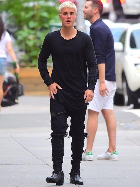 Justin Bieber Cuban heels.