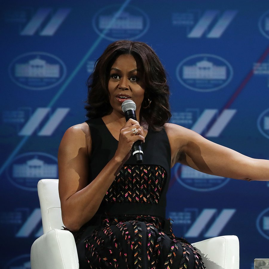 Michelle Obama The White House Council On Women And Girls Hosts The 'United State Of Women' Summit In D.C.