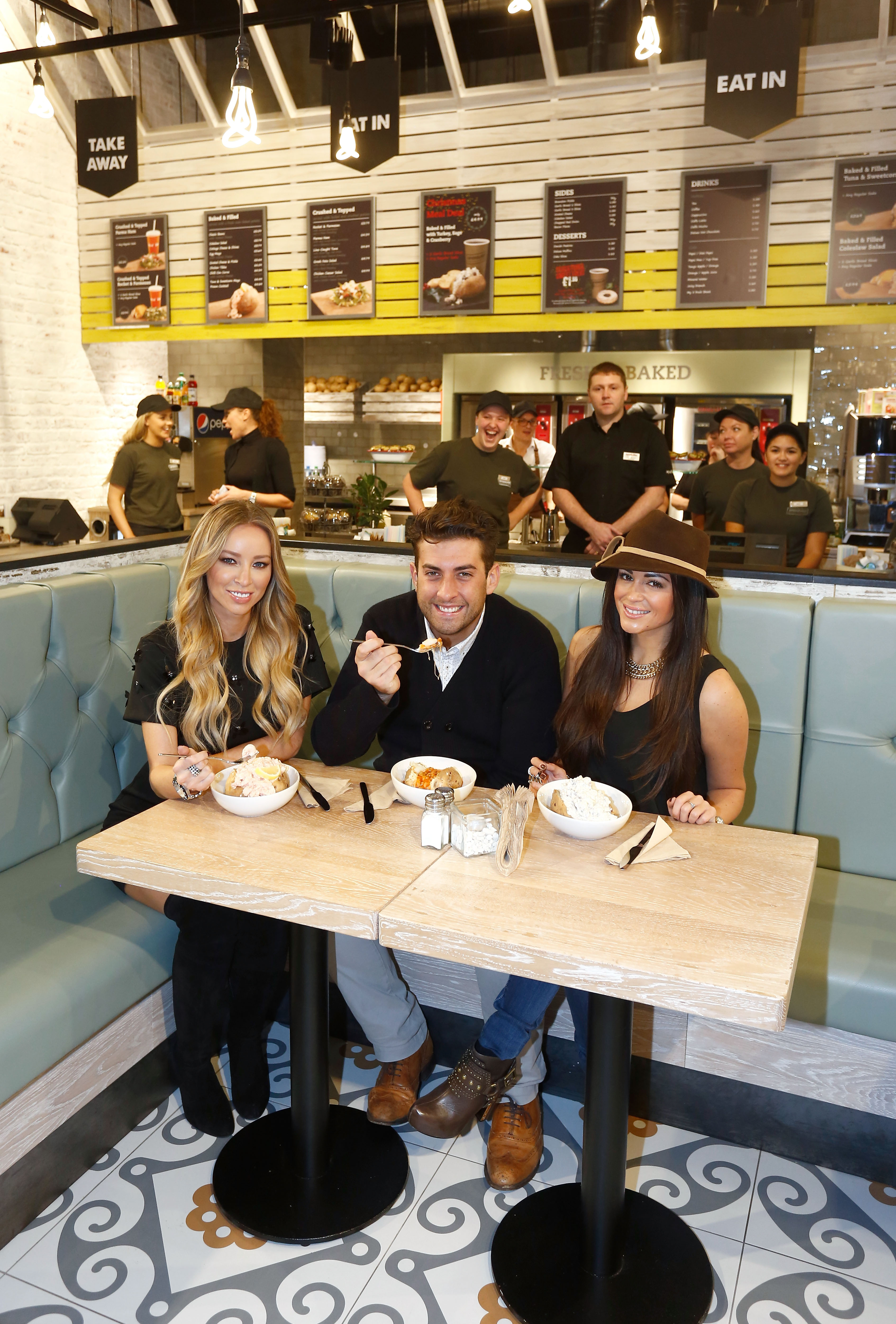 TOWIE Cast launching SpudULike