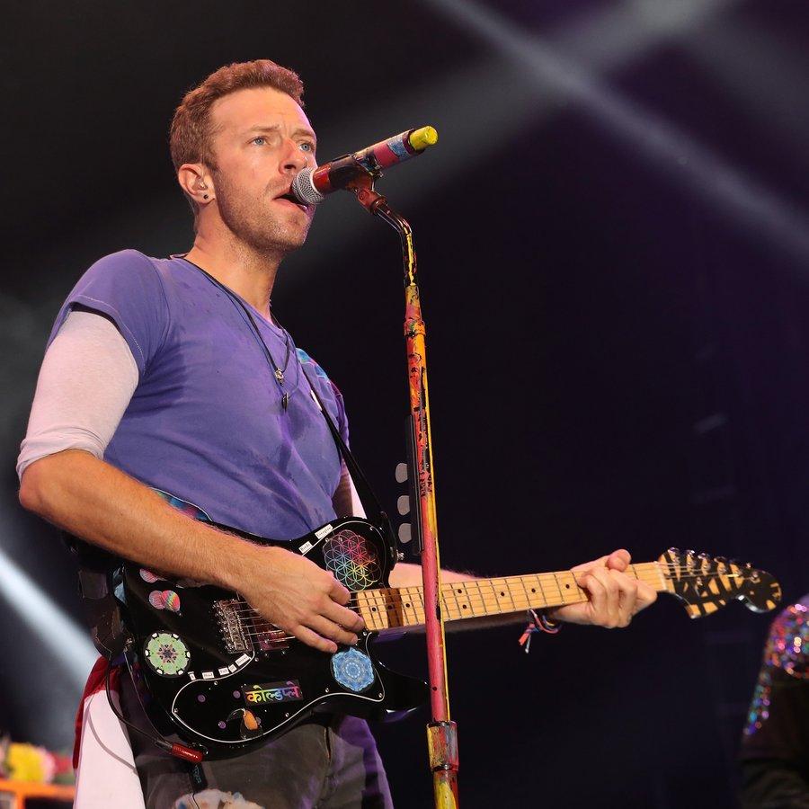 Coldplay Sentebale Concert
