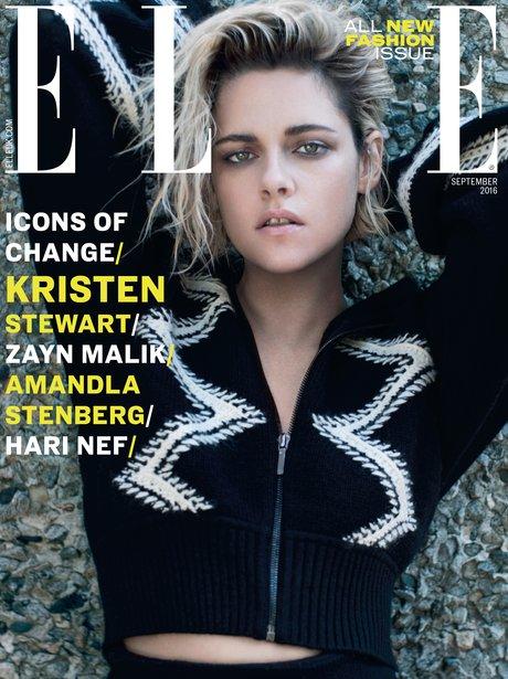Kristen Stewart ELLE UK Cover August 2016
