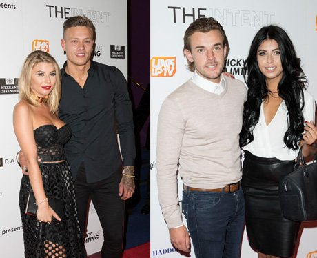 Love Island contestants attend The Intent premiere