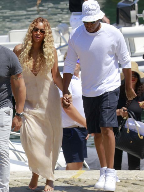 Beyonce and Jay Z holiday in Monoco