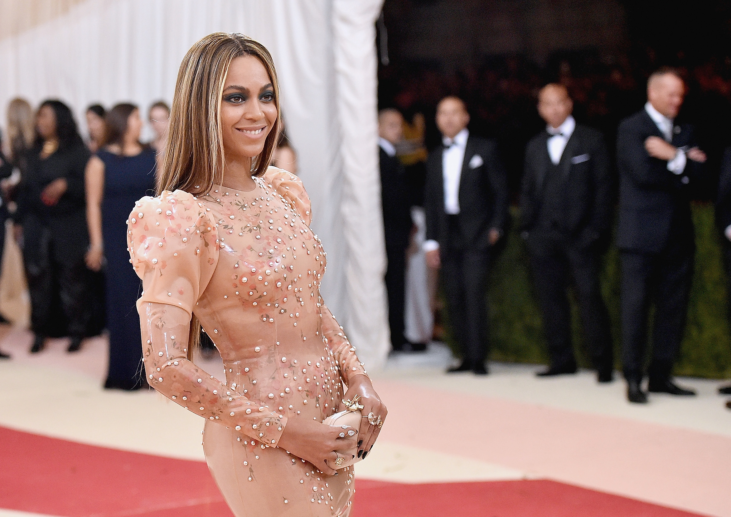 Beyonce at 'Manus x Machina: Fashion In An Age Of