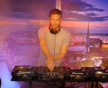 Calvin Harris Wax Work Madame Tussauds 2016
