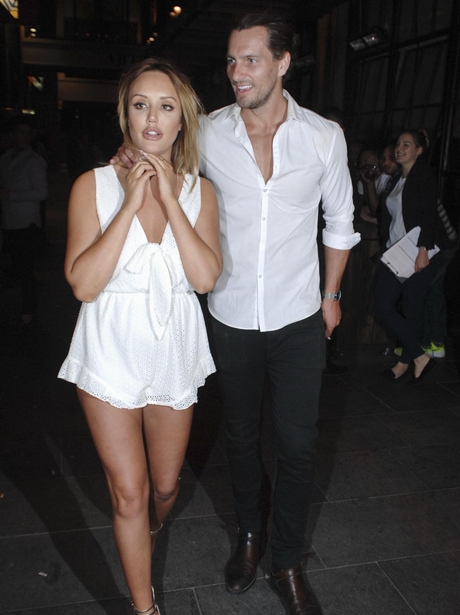 Charlotte Crosby and Ash Harrison on a night out