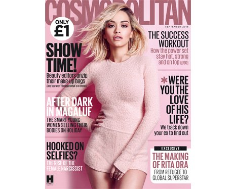 Cosmopolitan Rita Ora Cover September 2016
