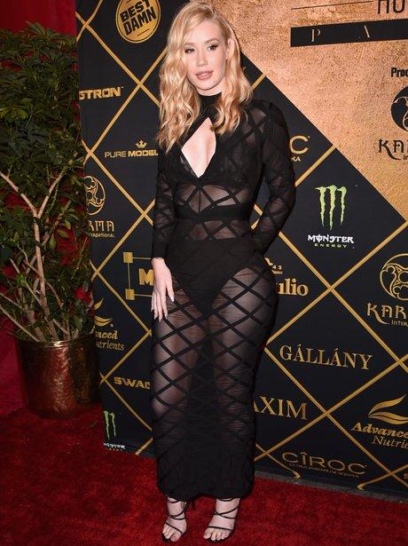 Iggy Azalea attends Maxim Hot 100 party
