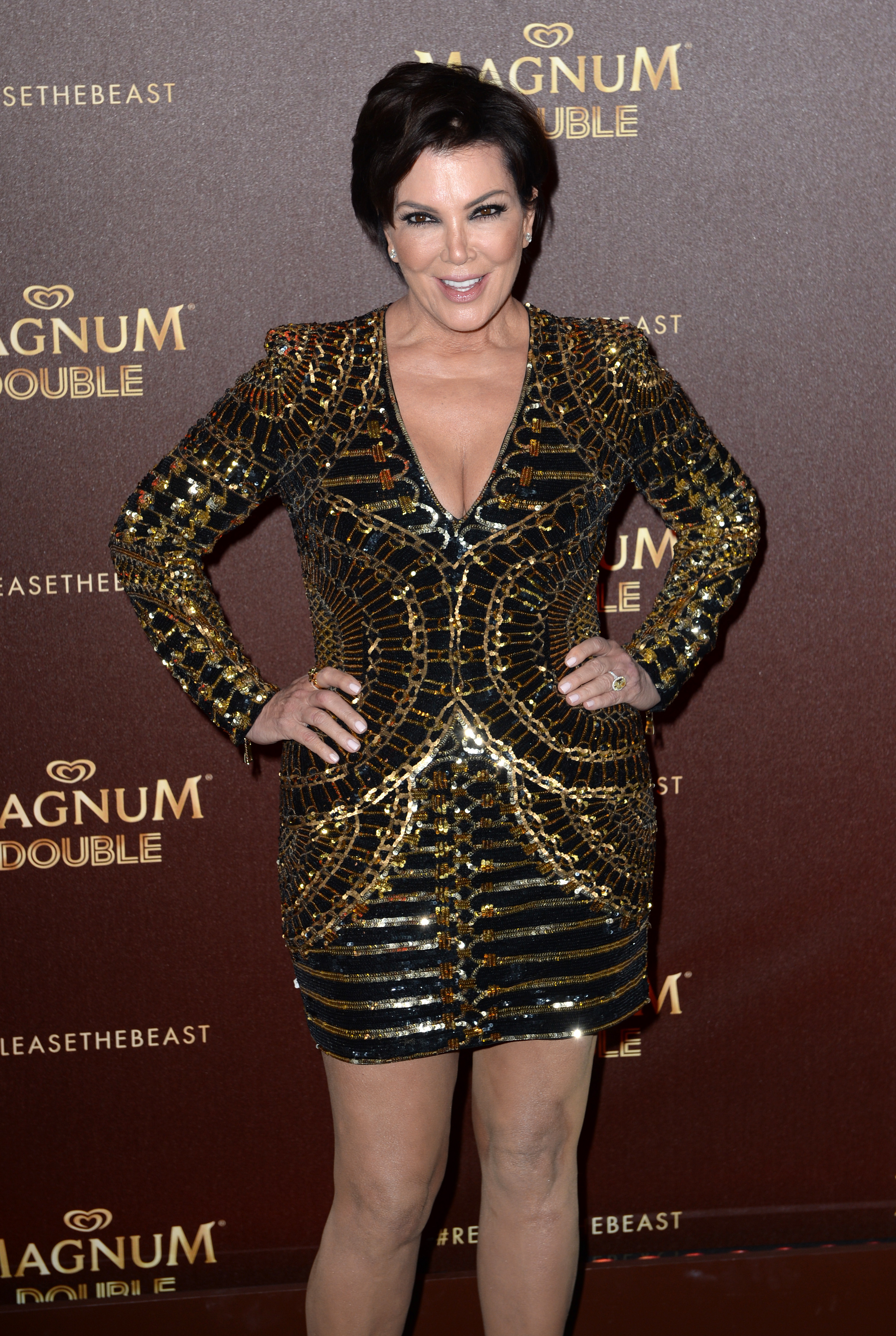 Kris Jennerattending the Magnum Double Dare Party