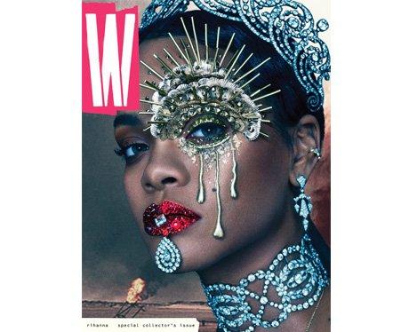 Rihanna for W Magazine