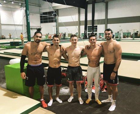 The Men's Gymnastics Team