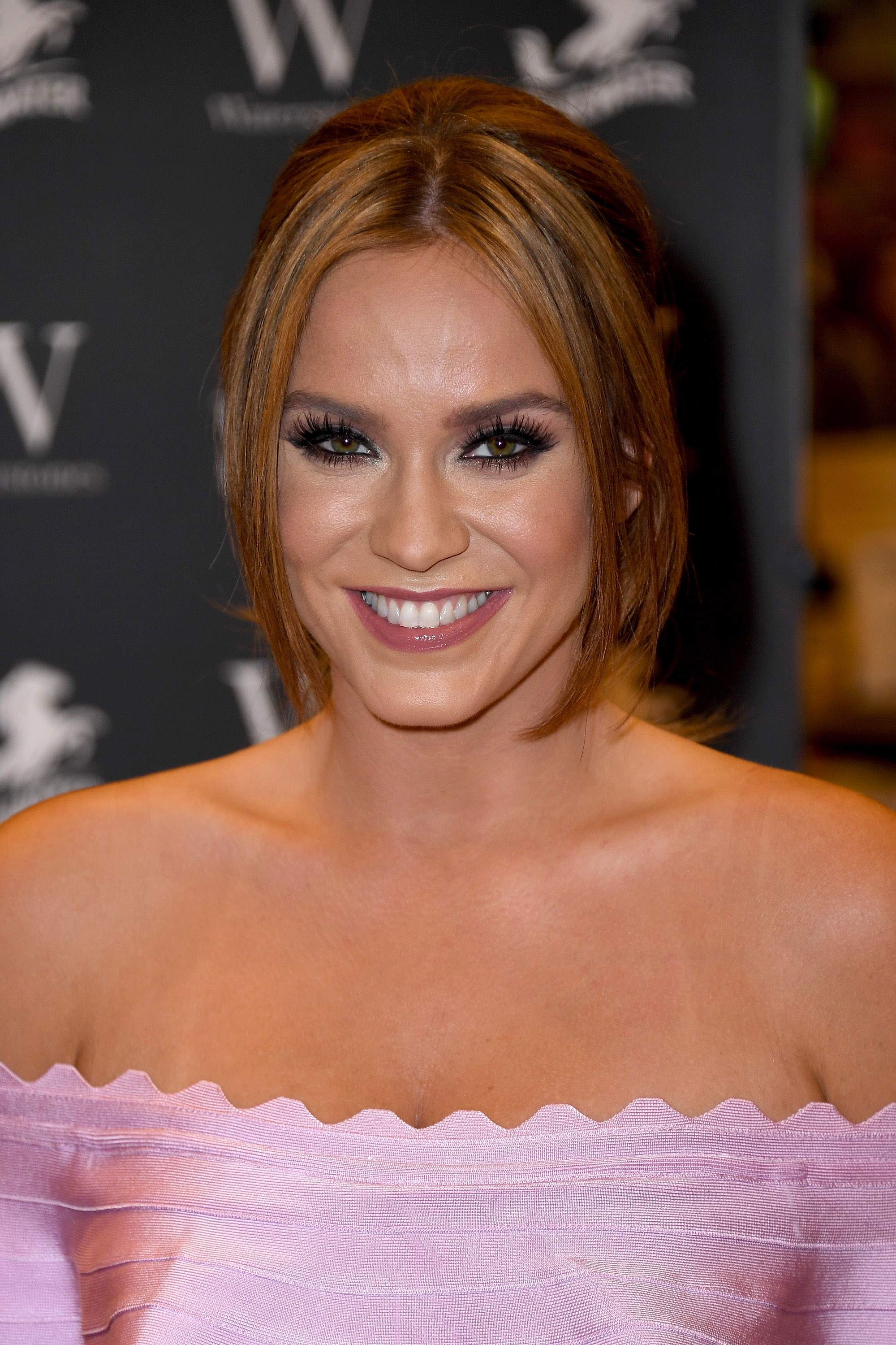 Vicky Pattison Signs Copies Of Her Book 'The Real