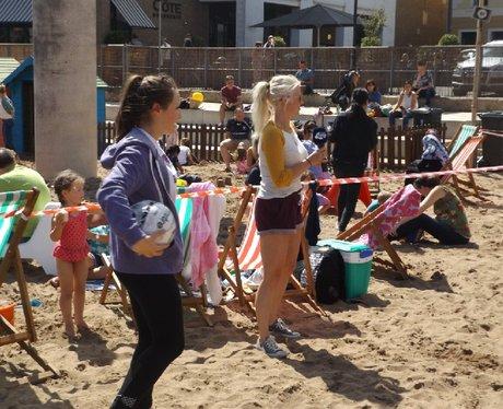 Cardiff Bay Beach FAW activity