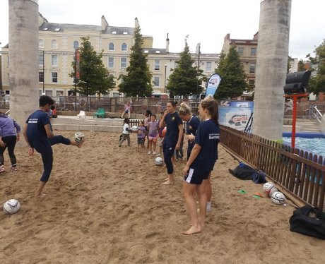Cardiff Bay Beach FAW activity