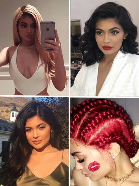 Kylie Jenner Hair Transformation