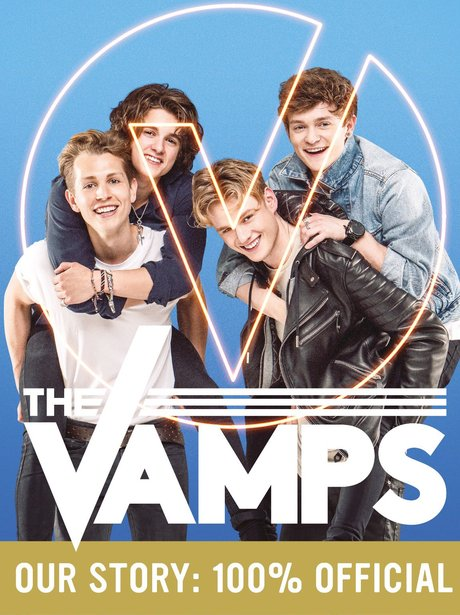 The Vamps reveal book cover