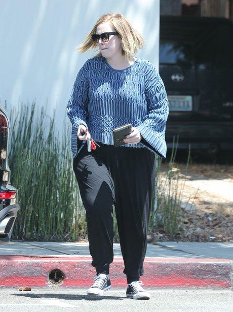 Adele in casual wear