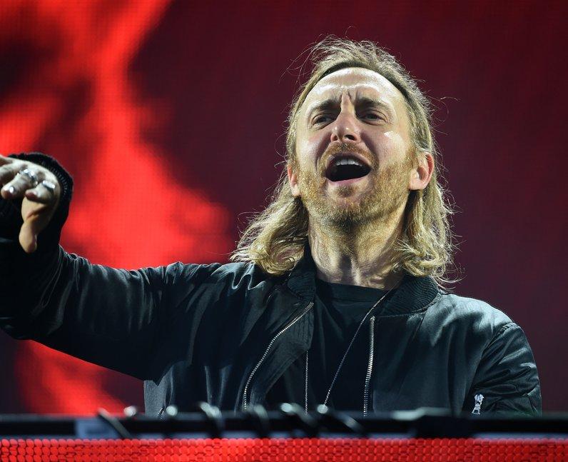 David Guetta at V Festival 2016 (Weston day1)