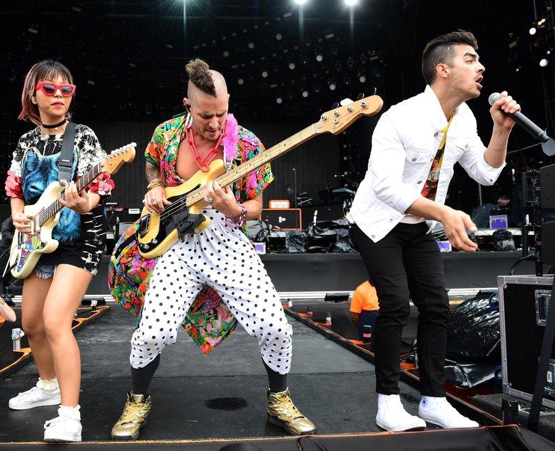DNCE live at V Festival 2016