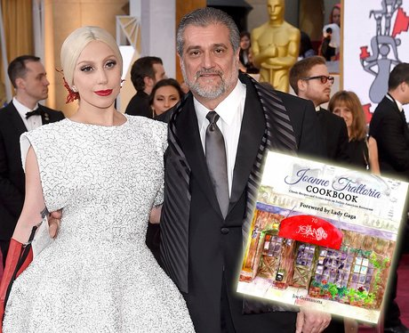 Lady Gaga and her father cookbook
