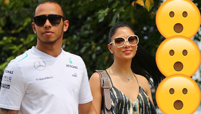 Lewis Hamilton Nicole Scherzinger Malaysia GP